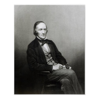 Portrait of Sir Richard Owen Poster