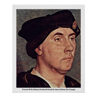Portrait Of Sir Richard Southwell Detail Poster