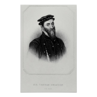 Portrait of Sir Thomas Gresham Poster