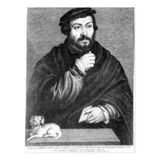 Portrait of Sir Thomas More Postcard