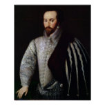 Portrait of Sir Walter Raleigh  1588 Poster
