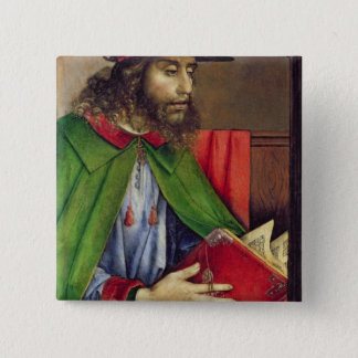 Portrait of Solon  c.1475 2 Inch Square Button