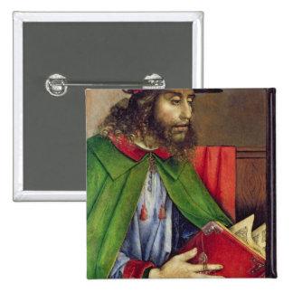 Portrait of Solon  c.1475 2 Inch Square Button