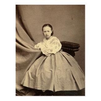 Portrait of Sophia Perovskaya Postcard
