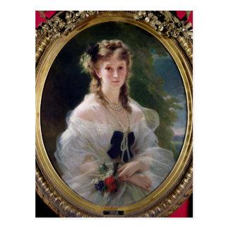 Portrait of Sophie Troubetskoy  Countess of Postcard