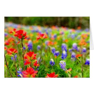 Portrait of Spring Wildflower Cards