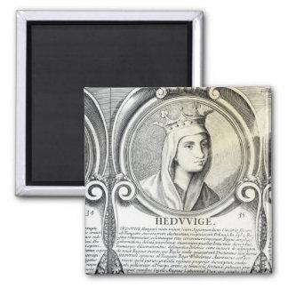Portrait of St.Jadwiga Magnets