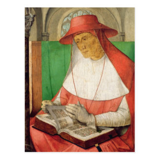Portrait of St. Jerome  c.1475 Postcard