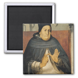 Portrait of St. Thomas Aquinas  c.1475 Magnet
