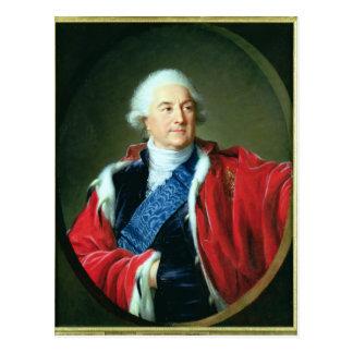 Portrait of Stanislas II Augustus , 1797 Postcard