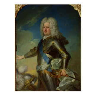 Portrait of Stanislas Lesczinski  King of Poland Postcard