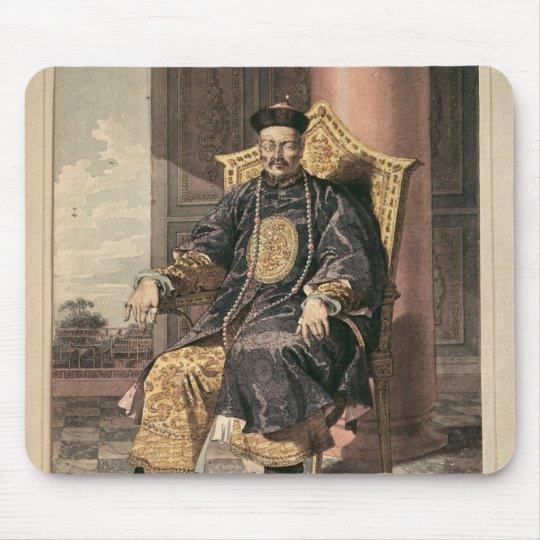 Portrait of Tchien Lung Emperor, 1793 Mouse Pad