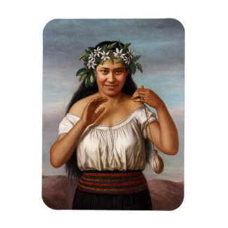 'Portrait of Terewai Horomona' - G. Lindauer Magnet