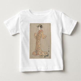 Portrait of the Actor Nakamura Yasio as an Oiran Baby T-Shirt