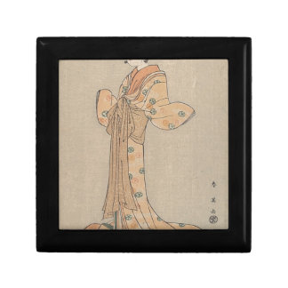 Portrait of the Actor Nakamura Yasio as an Oiran Gift Box
