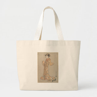 Portrait of the Actor Nakamura Yasio as an Oiran Large Tote Bag