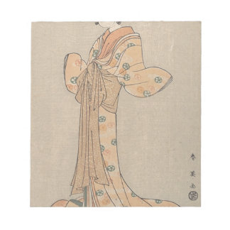 Portrait of the Actor Nakamura Yasio as an Oiran Notepad