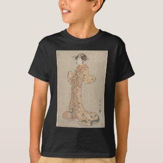 Portrait of the Actor Nakamura Yasio as an Oiran T-Shirt