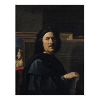 Portrait of the Artist, 1650 Postcard