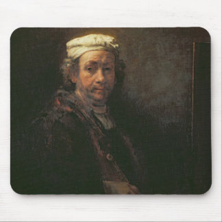 Portrait of the Artist at his Easel, 1660 Mouse Pad