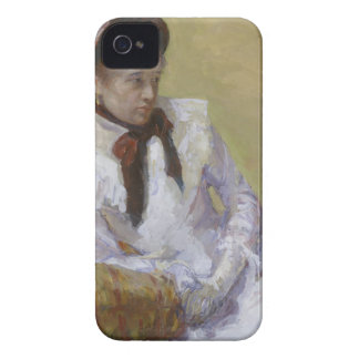 Portrait of the Artist - Mary Cassatt iPhone 4 Case-Mate Cases
