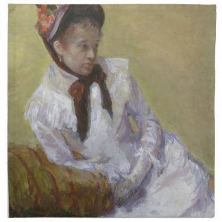 Portrait of the Artist - Mary Cassatt Napkin