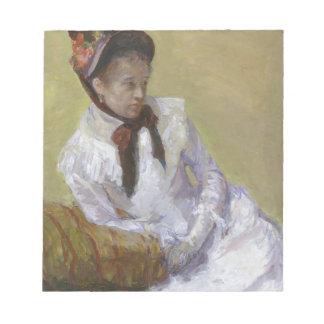 Portrait of the Artist - Mary Cassatt Notepad