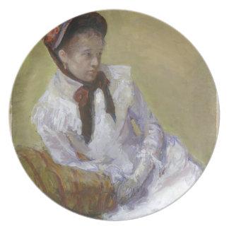 Portrait of the Artist - Mary Cassatt Plate