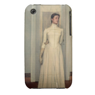 Portrait of the artist's sister, Marguerite Khnopf iPhone 3 Case-Mate Cases