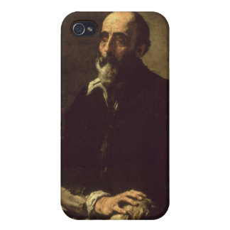 Portrait of the Blind Sculptor, Gambazo  1632 Cover For iPhone 4