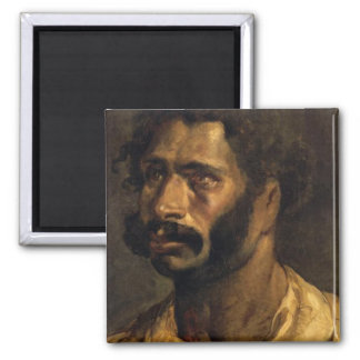 Portrait of the Carpenter of The Medusa Square Magnet