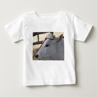 Portrait of the Chianina, italian breed of cattle Baby T-Shirt