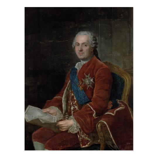 Portrait of the Dauphin Louis de France Postcard