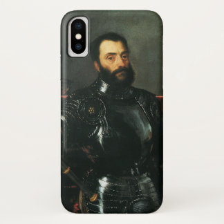 Portrait of the Duke of Urbino by Titian Case-Mate iPhone Case
