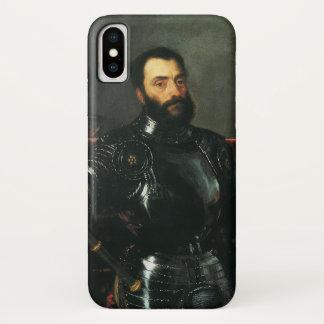 Portrait of the Duke of Urbino by Titian iPhone X Case