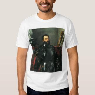 Portrait of the Duke of Urbino by Titian T Shirts