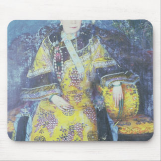 Portrait of the Empress Dowager Cixi Mouse Pad