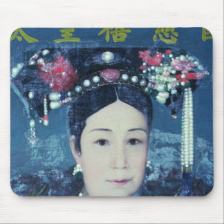 Portrait of the Empress Dowager Cixi Mouse Pads