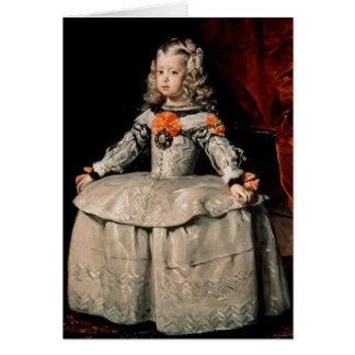 Portrait of the Infanta Margarita Aged Five Card