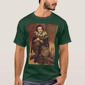 Portrait Of The Jester Juan De Calabazas T-Shirt