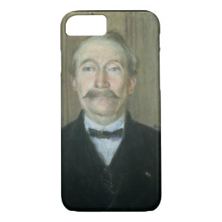 Portrait of the Patriarch (pastel on paper) iPhone 7 Case
