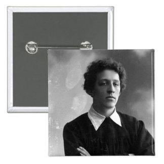 Portrait of the poet Alexander Blok 2 Inch Square Button