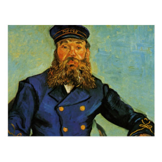 Portrait of the Postman Joseph Roulin - Van Gogh Postcard