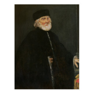 Portrait of the Procurator Nicolo Priuli Postcard