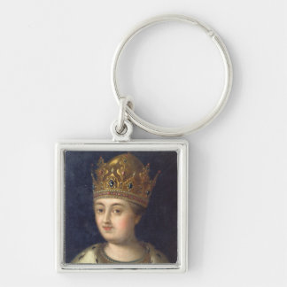 Portrait of the Regent Sophia, 1772 Keychain