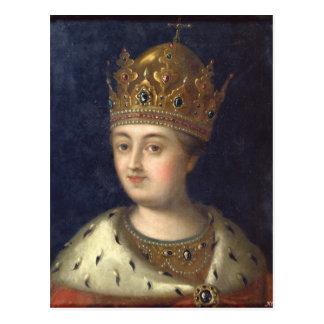Portrait of the Regent Sophia, 1772 Postcard