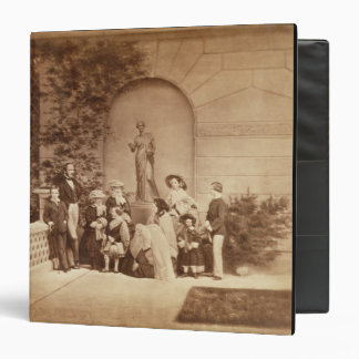Portrait of the Royal Family at Osborne House, 185 3 Ring Binders