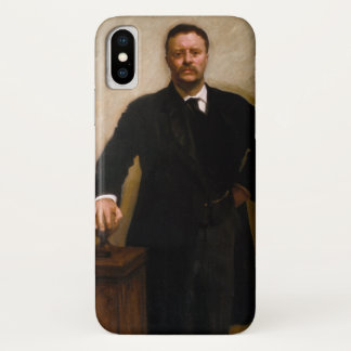 Portrait of Theodore Roosevelt by Sargent Case-Mate iPhone Case