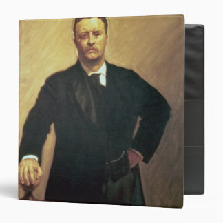 Portrait of Theodore Roosevelt Vinyl Binder