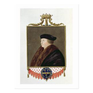 Portrait of Thomas Cromwell (c.1485-1540) Ist Earl Postcard